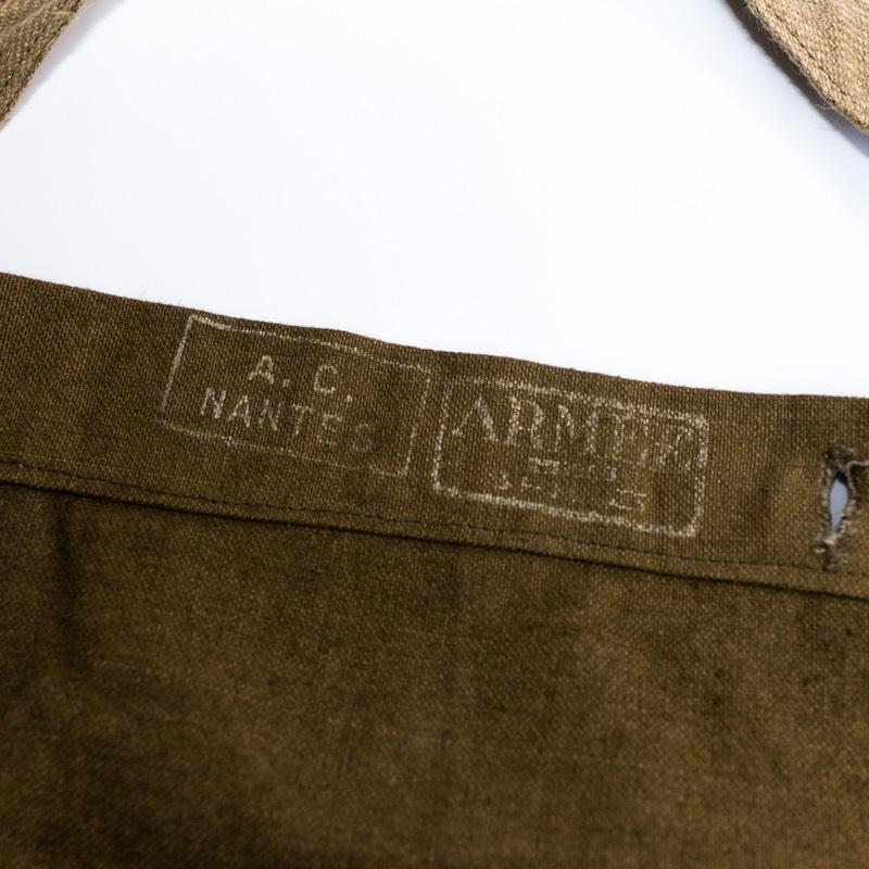 French Military / 1930-1940'sDeadstock / M-38 Bread Bag