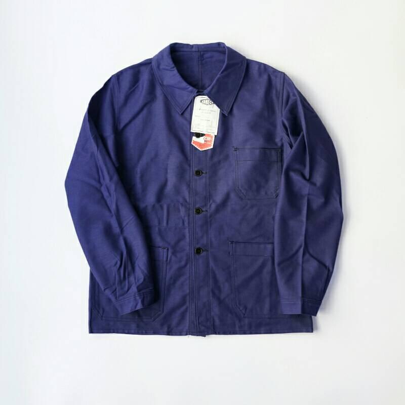 French Work / KONECO / 1950's Dead Stock  / Cotton Utility Jacket / Medium、Large