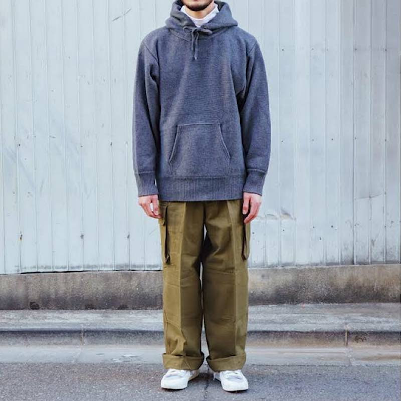 French Military / 1940's Deadstock / M-47 Cargo Pants / 前期モデル / Metal button / Non Wash / Size:3-5
