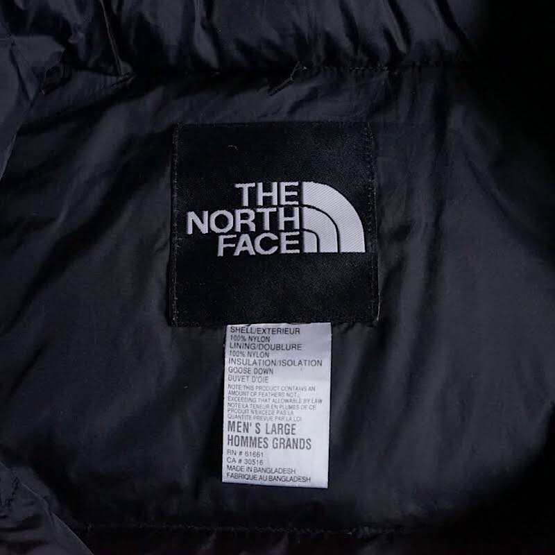 THE NORTH FACE / 1990's Vintage / Nuptse Down Jacket / Large / Pacific