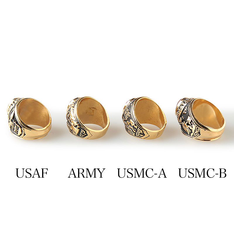 US Military / Deadstock / Military Ring / Army, Navy, Marine Corps
