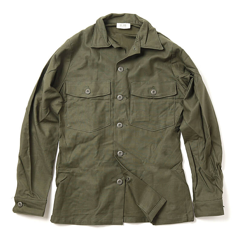 US Army / 1970's Deadstock / Military Utility Shirt