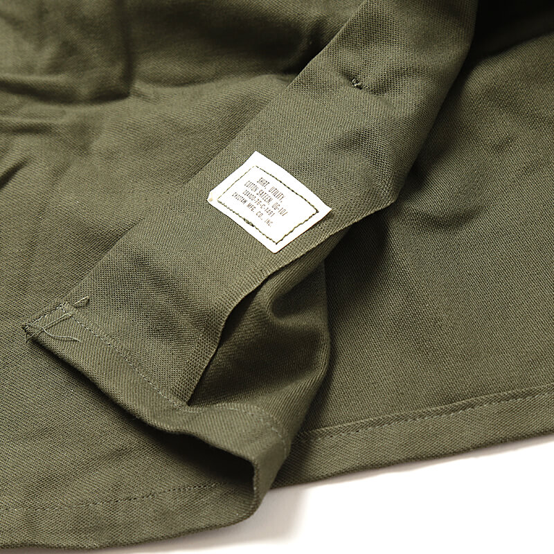 US Army / 1970's Deadstock / Military Utility Shirt / 100%Cotton