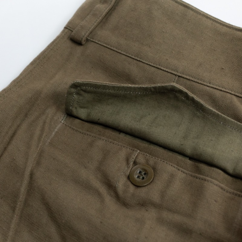 French Military / 1950's Deadstock / M-47 Cargo Pants / Non Wash