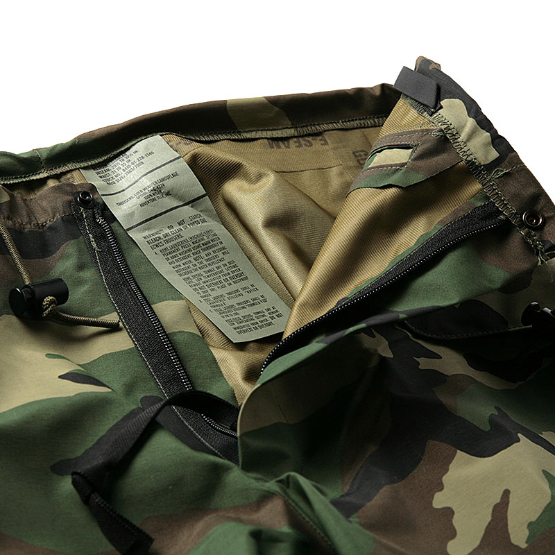 US Army / 1980's Deadstock / Gore-Tex Camouflage Pants