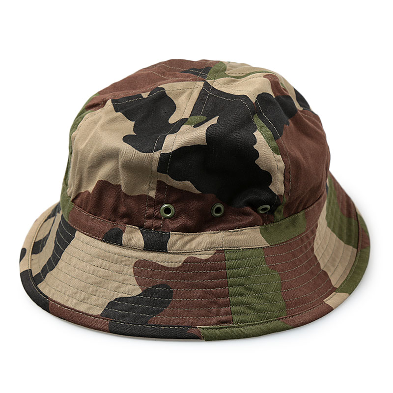 French Military / Deadstock / Herringbone Camouflage Hat