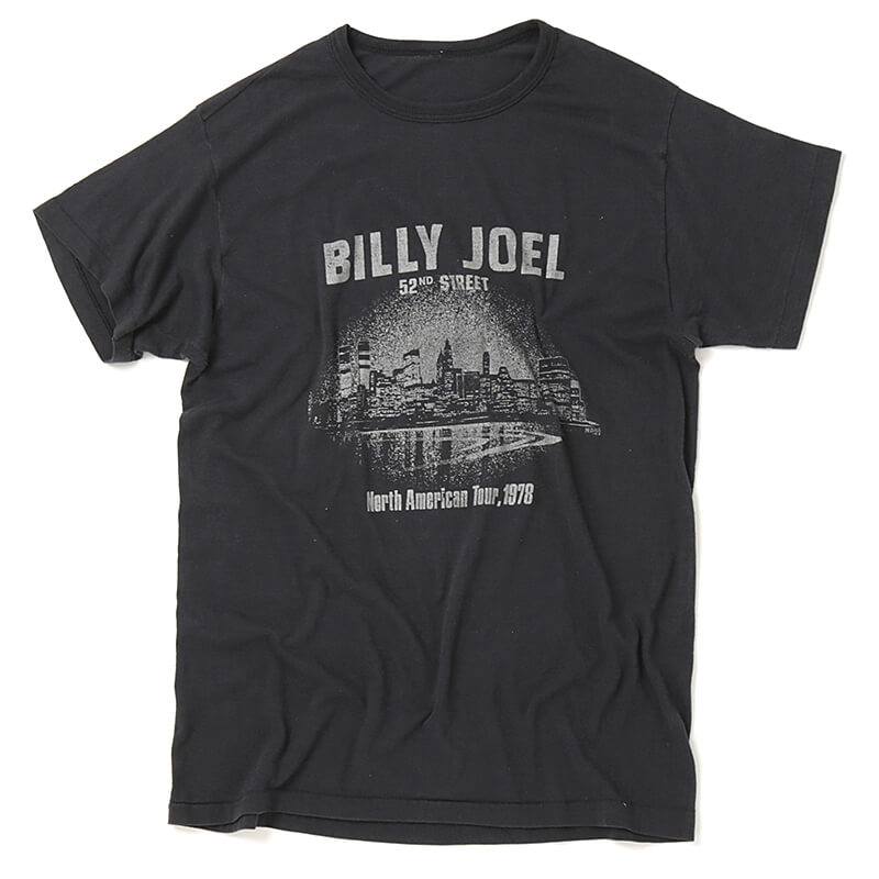 Used / Billy Joel / 1970's Vintage / Tour T-Shirt