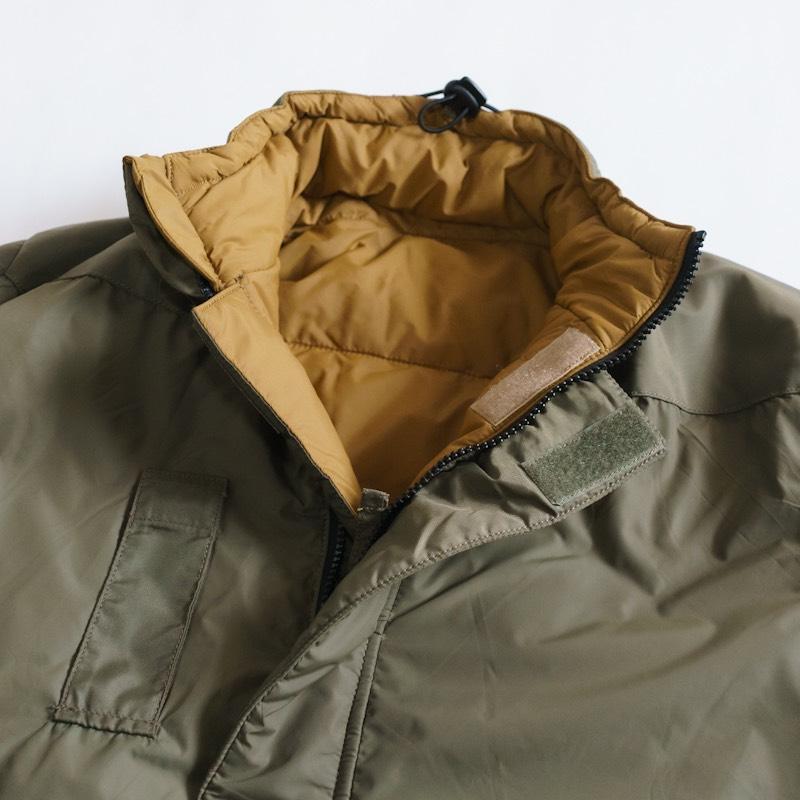Netherlands Military × Snugpak / Deadstock / Softy Reversible Jacket