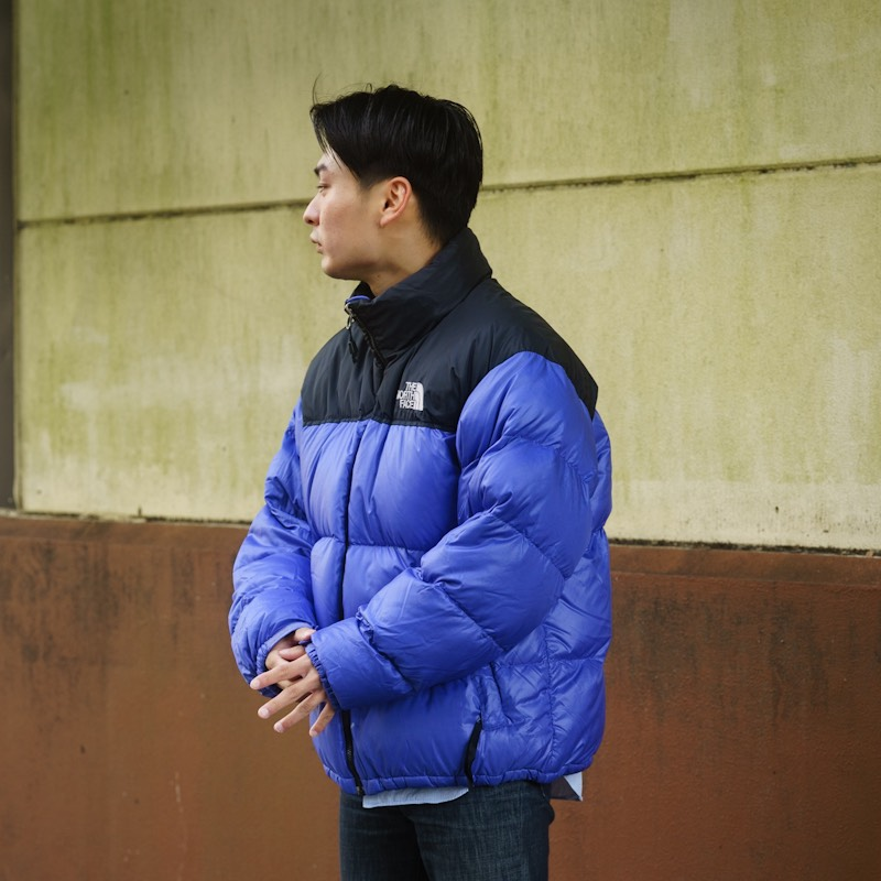 THE NORTH FACE / 1990's Vintage / Nuptse Down Jacket / Large