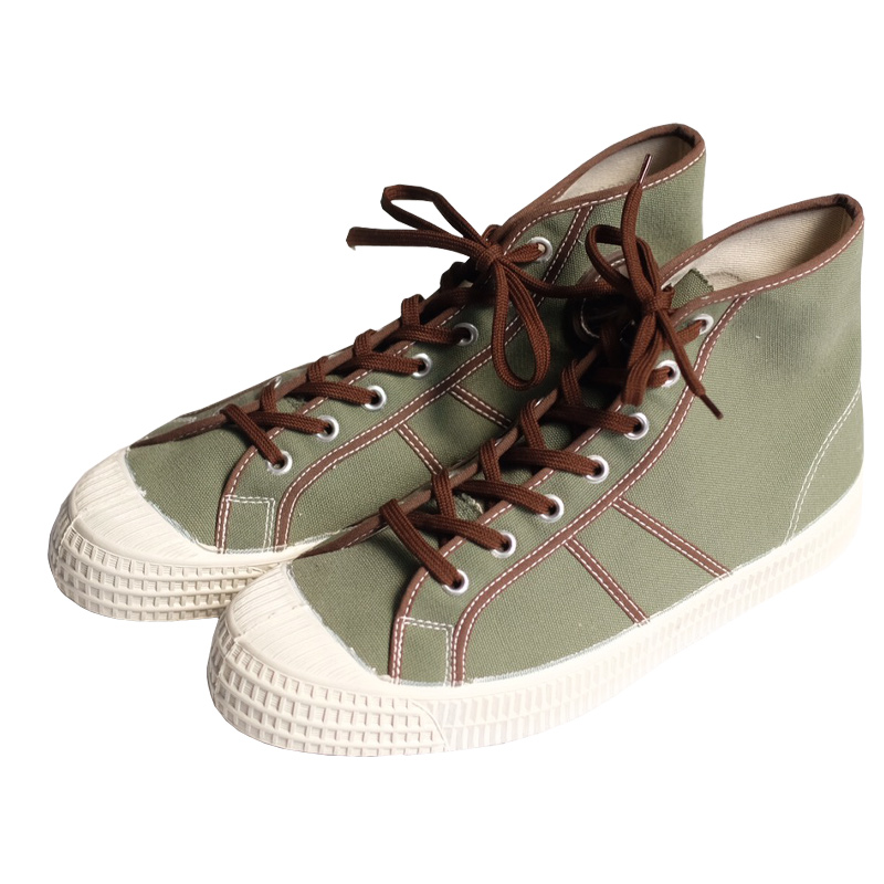 Czech Military / Deadstock / Hi-cut Canvas Sneaker