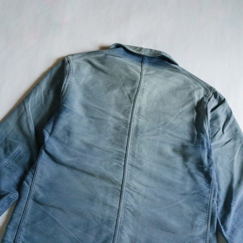 French Work / 1950'sVintage / Moleskin Work Jacket / Medium