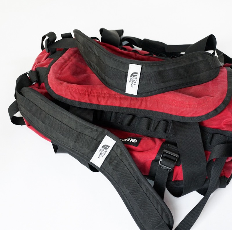 THE NORTH FACE × SUPREME / Vintage / Waxed Cotton Base Camp Duffle Bag / 廃盤モデル