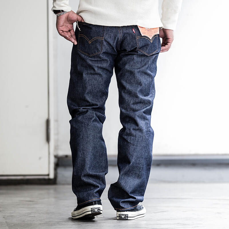 Levi's / 501 Straight Denim Pants / USA Model