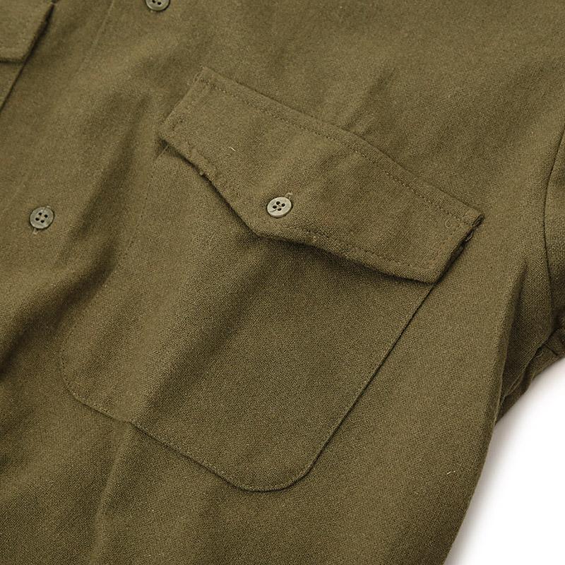 Italian Military / Military Wool Shirt