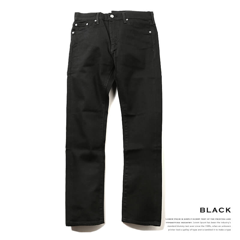Levi's / 513 Stretch Slim Denim Pants