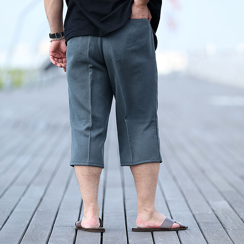 Swiss Military × hallelu Products / 1970's / Deadstock / Cropped Slacks