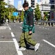 THE NORTH FACE / 1990's Vintage / 3D Mountain Light Jacket / X-Large / Forest Green