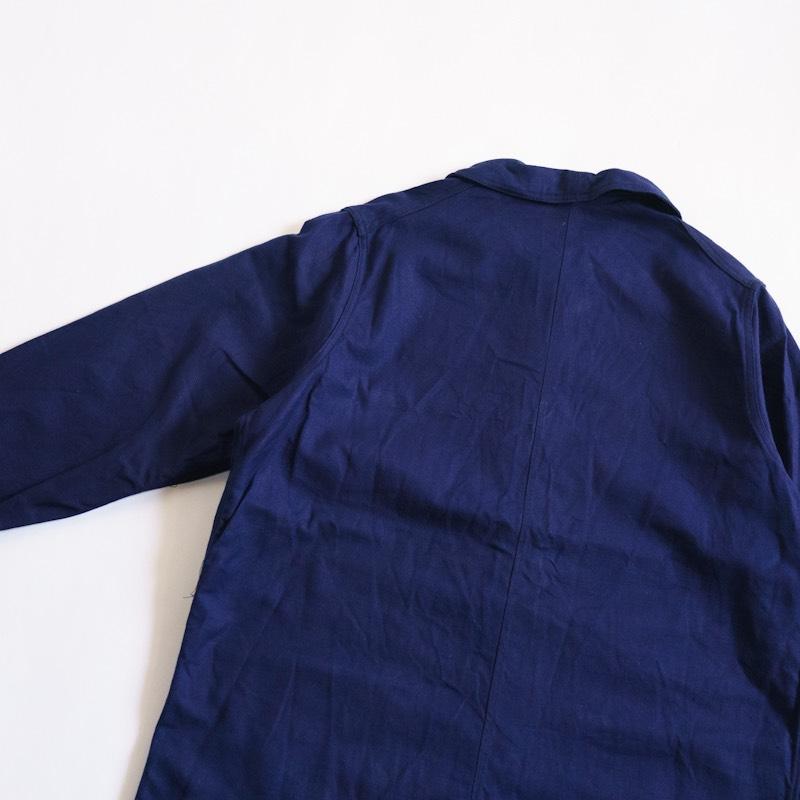 French Military / 1950'sDeadstock / Utility Jacket / Ink Blue / Medium相当