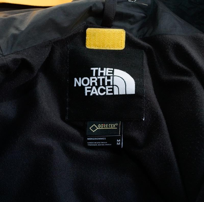 THE NORTH FACE / Deadstock / 1990 Mountain Jacket GTX / Medium / Black×Yellow
