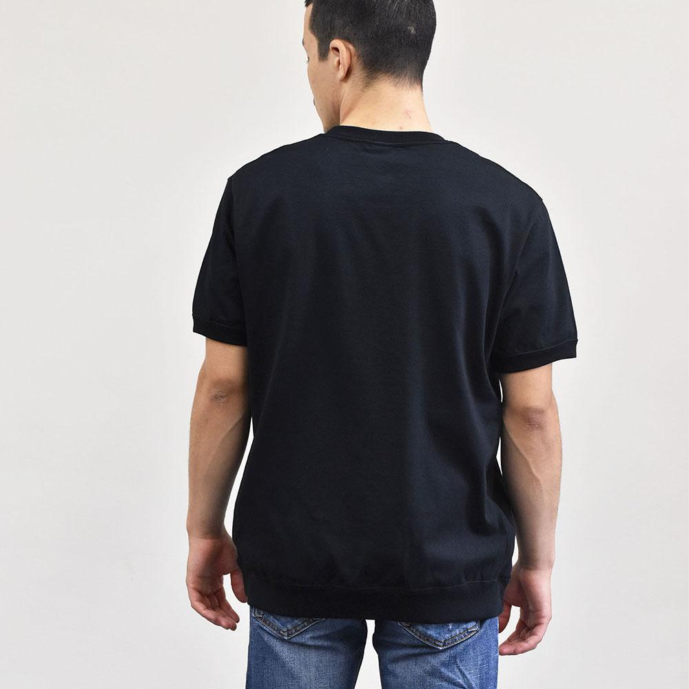 サイドパネルリブ プレーン Tシャツ