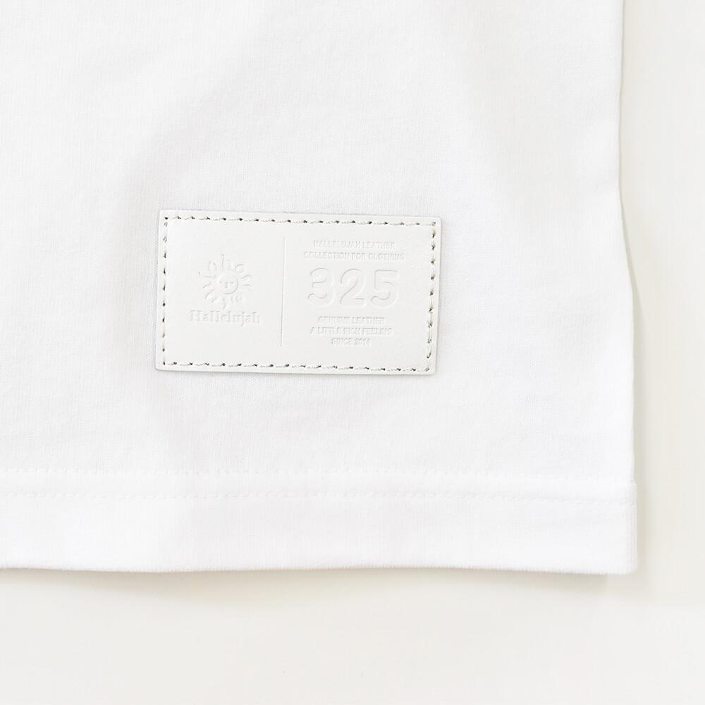 スモールロゴ ジャストフィット ポケットTシャツ【325】