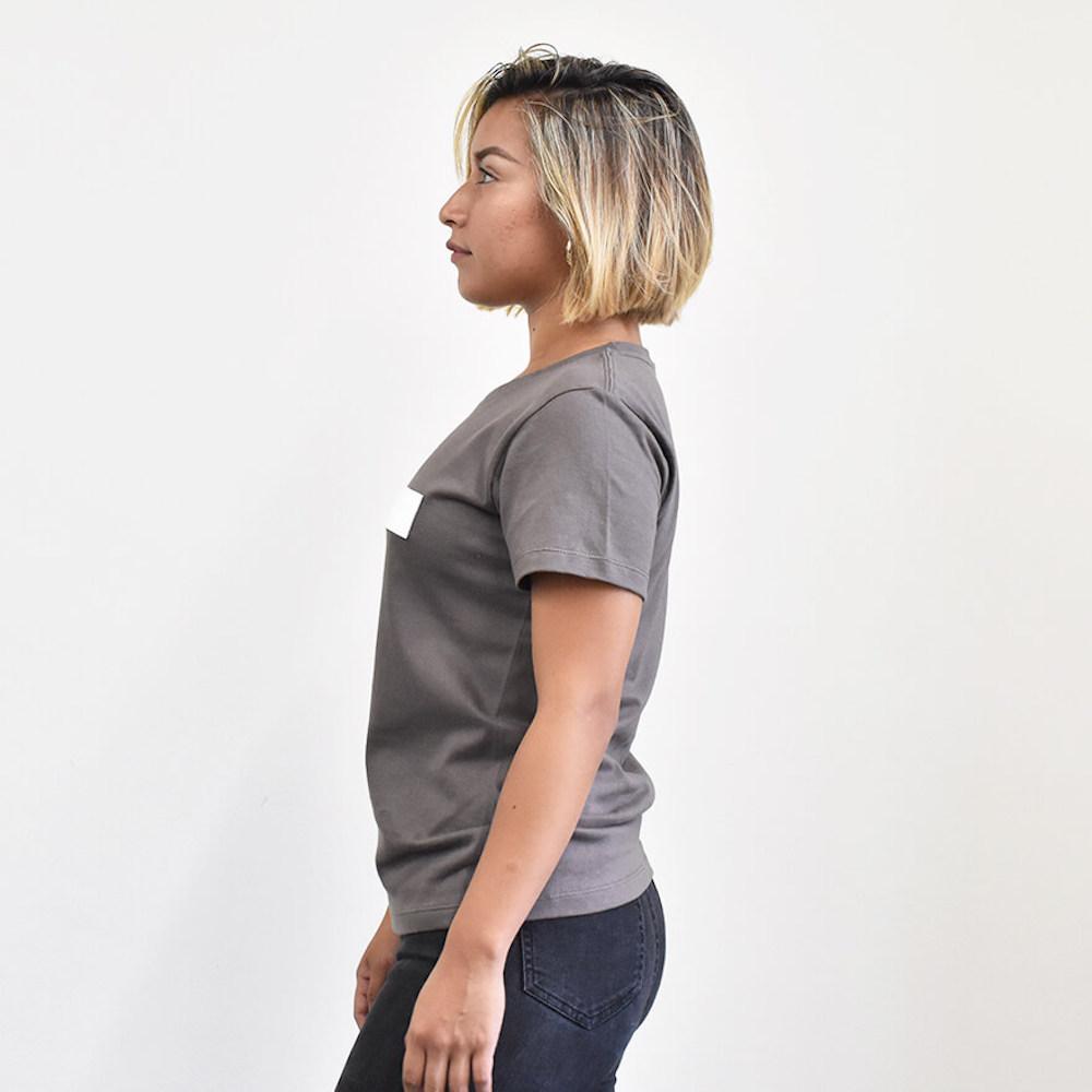 チェストタグ スタンダード Tシャツ レディース【325】