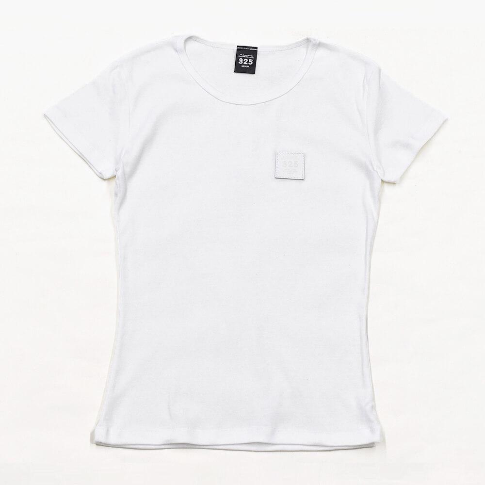 スリムフィット フライス Tシャツ レディース【325】