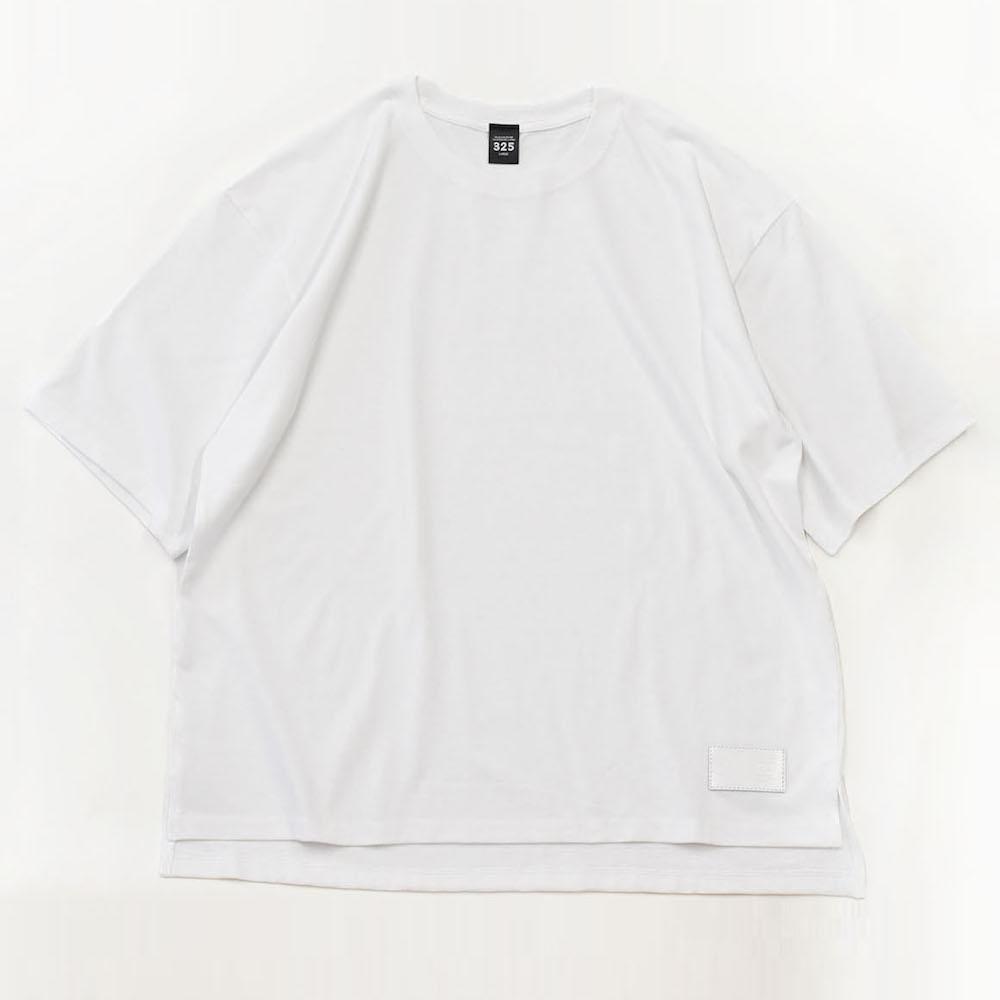 レディース ビッグシルエット サイドスリット Tシャツ【325】