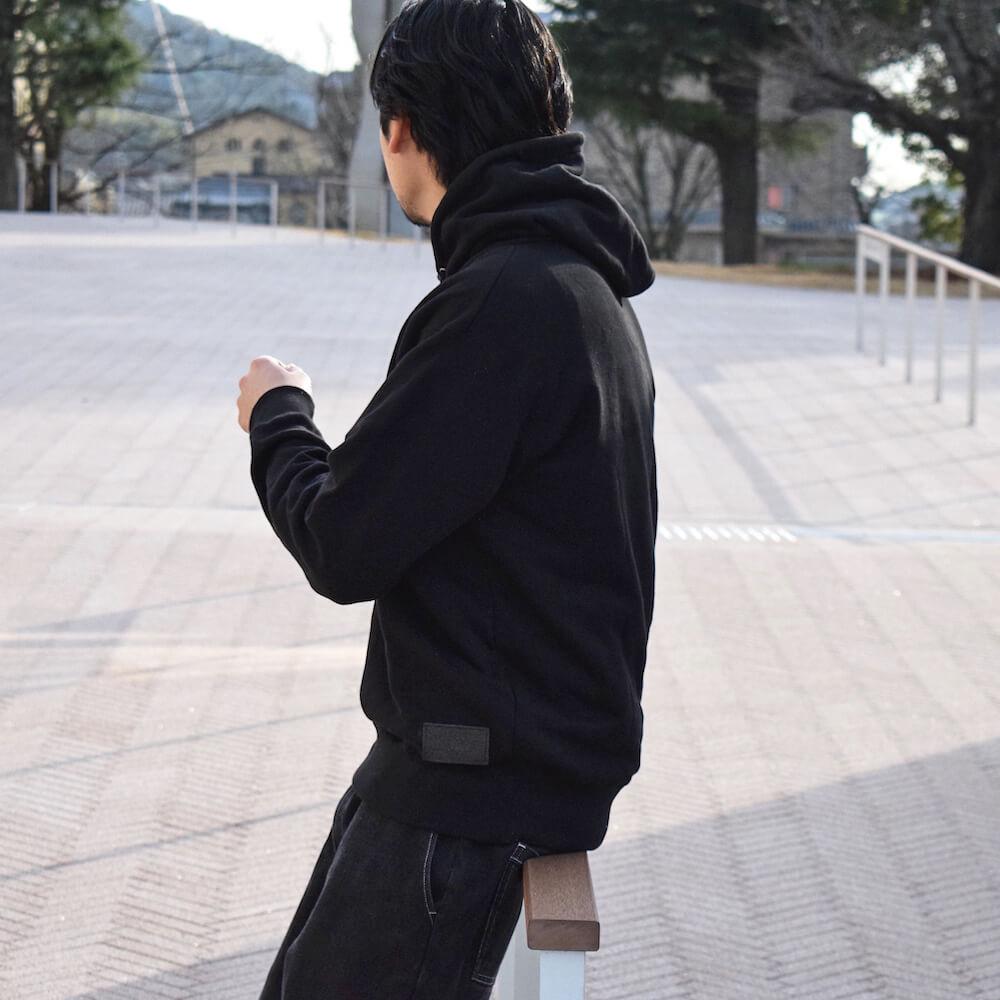 ポケットレスミドルパーカー【325】