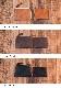 ブエブロレザーL字コインケース Choco 国産馬革 セパレート【JAPAN FACTORY】
