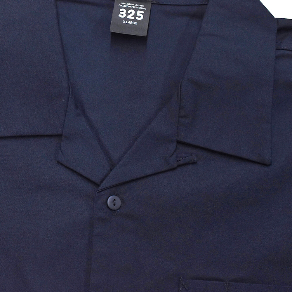 オープンカラー リラックスシャツ ロングスリーブシャツ【325】