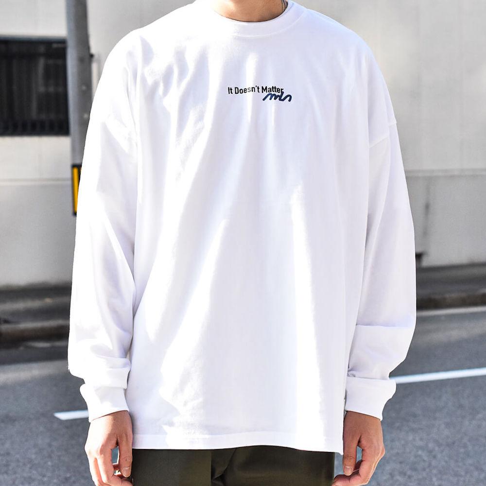 リラックス プリント ロングスリーブTシャツ【325】