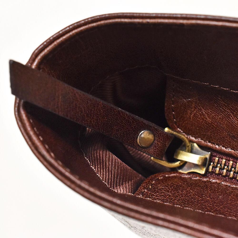 ビジネストートバッグ Brown 本革 A4 ビジネスバッグ カバン
