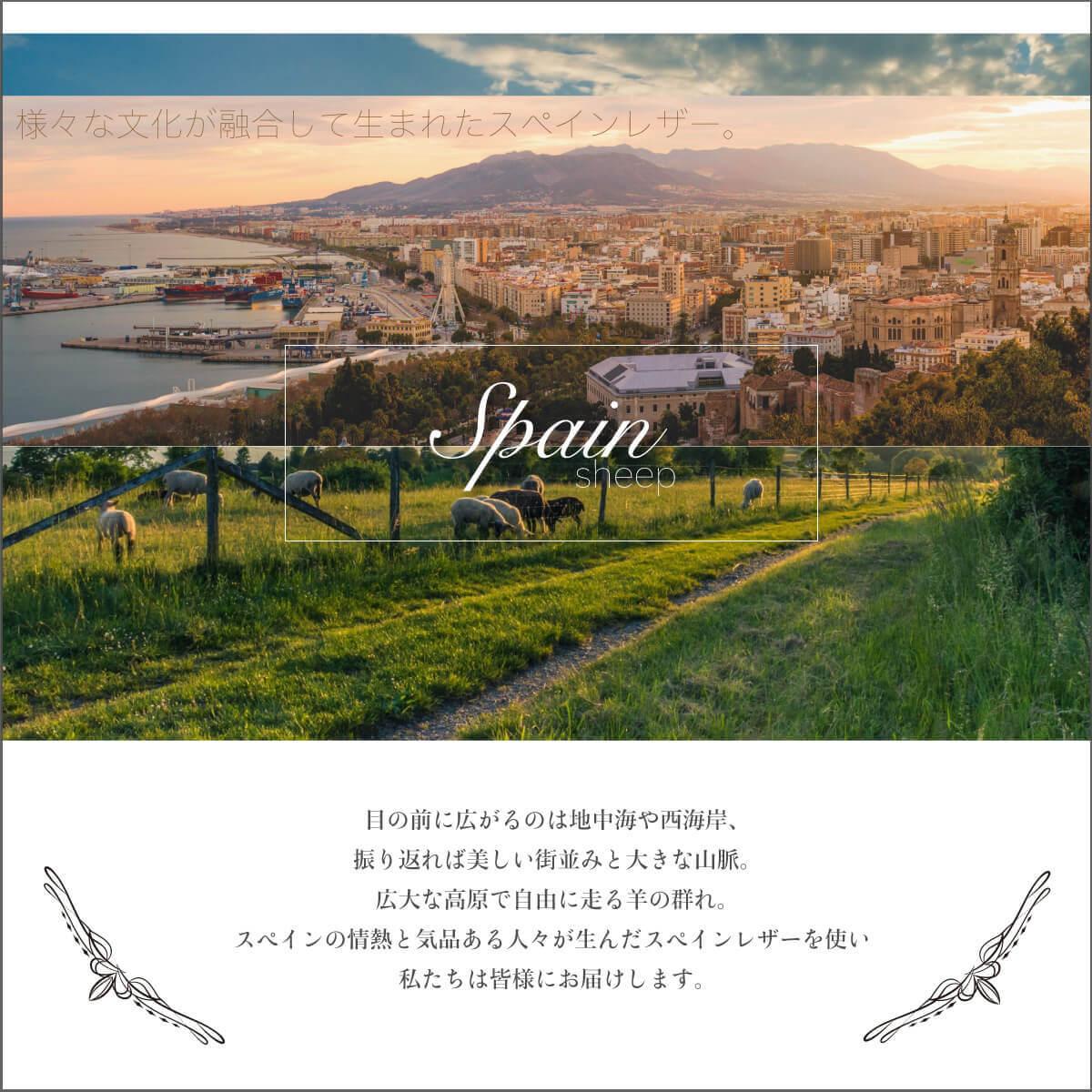 Polka スペインレザー ショートストラップ【ToocTooc】