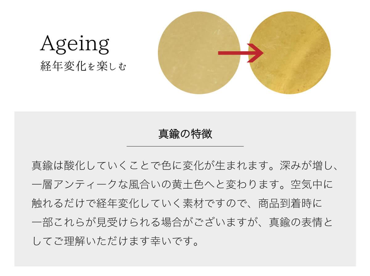 真鍮カギ型キーホルダー 栃木レザーリング 3連 キーリング 鍵型