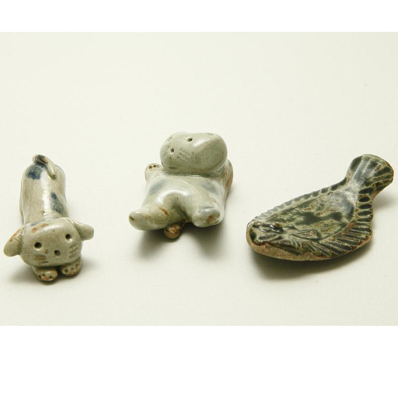 箸置き(魚)-石見焼-