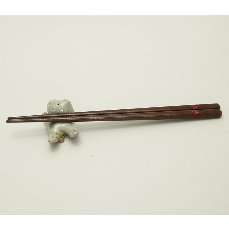 箸置き(ねこ)-石見焼-