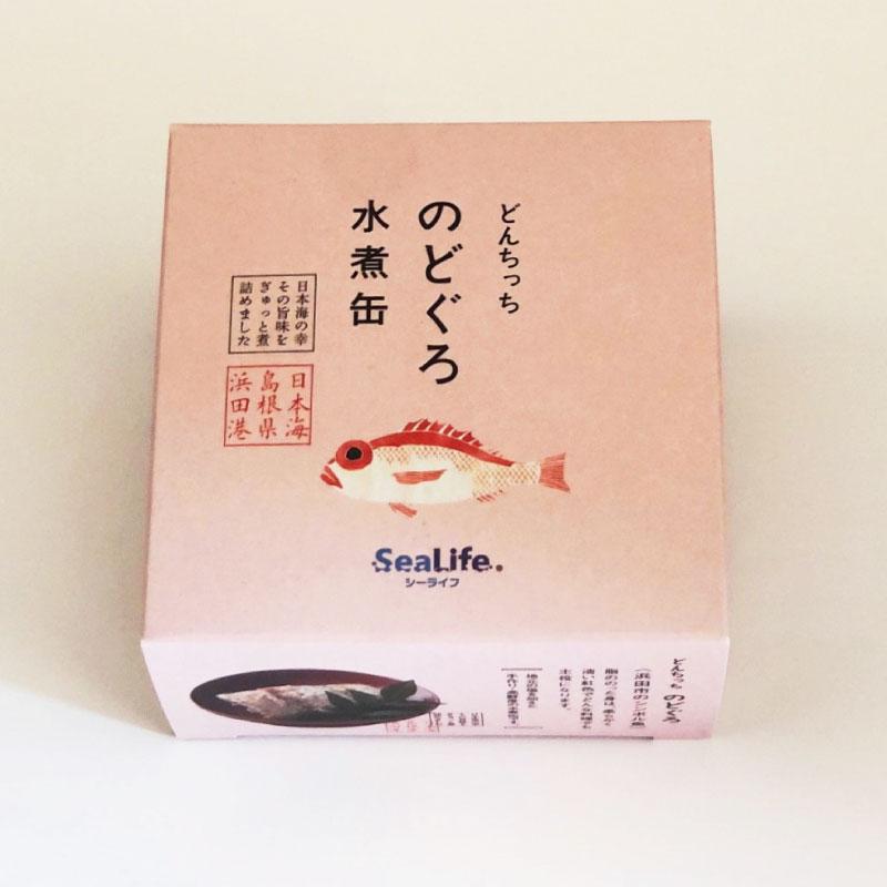 浜田のどんちっちのどぐろ水煮缶詰(箱入り)