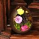 【花のお供え】 プリザーブドフラワー仏花 つごもり | 和のプリザーブドフラワー仏花 喪中見舞い 法事のお供え プリザ仏花 お盆のお供え 初盆のお供え 仏花 お仏壇お供え ●お仏壇・仏具の浜屋
