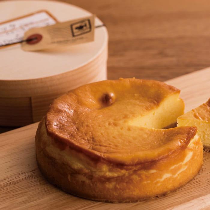 牛さんのチーズケーキセット