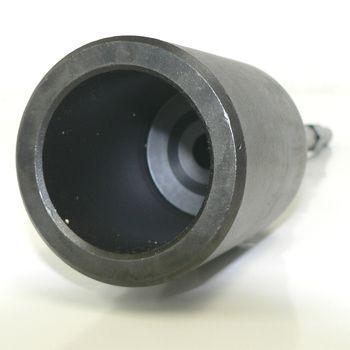 電動ハンマ用単管パイプ打込みタガネ