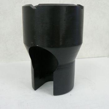 CB20用単管パイプ打込タガネ(オワン型)