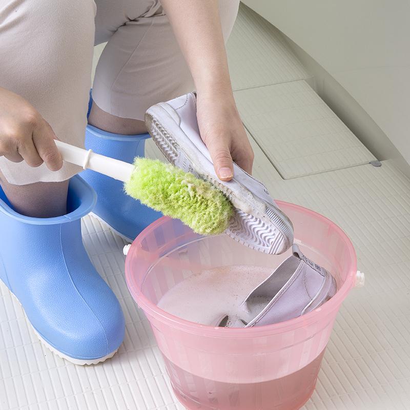 シューズブラシ  上履き 靴 スニーカー 洗い 洗濯 ブラシ 汚れが傷めず 落ちる 日本製