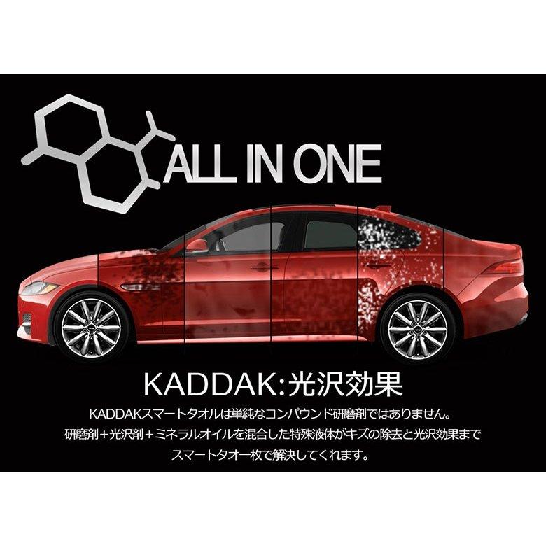 NEW KADDAKスマートタオル 2個 車 傷消し クリーナー 車のキズや汚れを除去 カダック スマートタオル  研磨 光沢送料無料