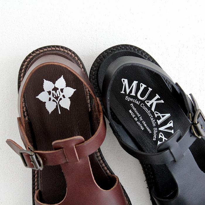 MUKAVA ムカヴァ Tストラップサンダル MU-998 chausser ショセ レディース 靴