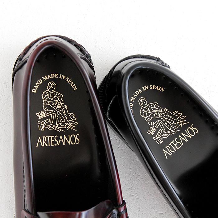 ARTESANOS アルテサノス コインローファーNo.600 レディース