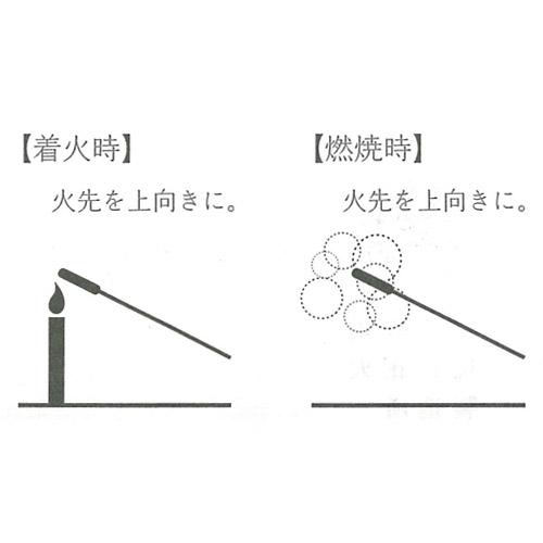 西の線香花火 スボ手牡丹(15本入)