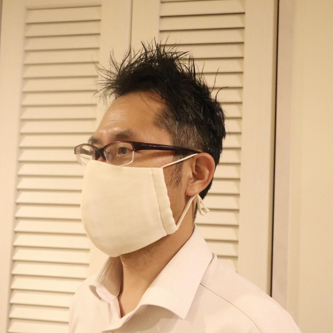 父の日 極上布マスク [Lサイズ/オーガニックコットン]