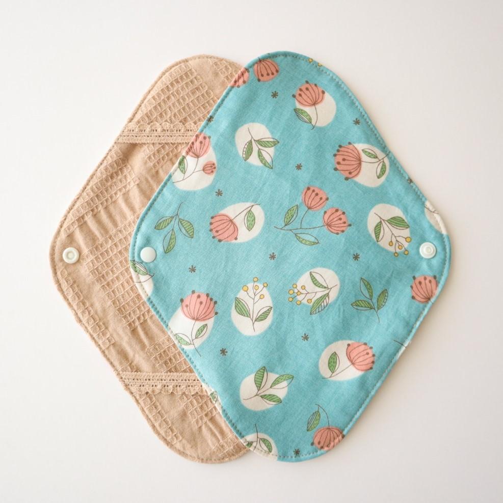 布ナプキンホルダー [hikari*/ブルー]