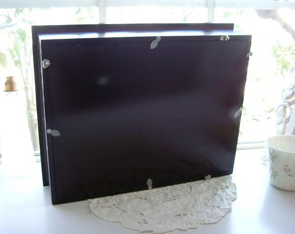 110108 パープル系の壁掛け(赤茶) オーダーメイドプリザーブドフラワー